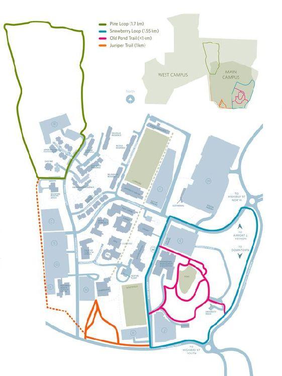 Campus Trails Map